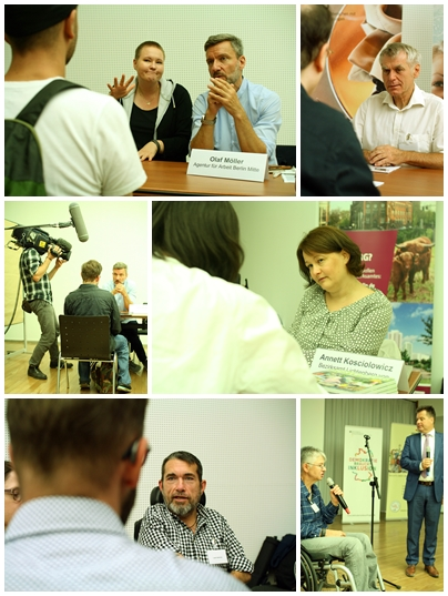Fotocollage Job-Speed-Dating